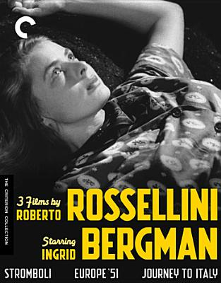 3 FILMS BY ROBERTO ROSSELLINI STARRIN BY BERGMAN,INGRID (Blu-Ray)